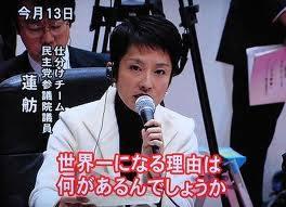 民主党\蓮舫