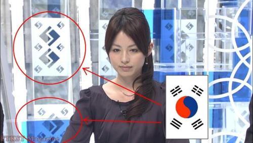 すぽると!韓国国旗のサブリミナル洗脳工作