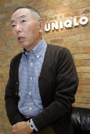 ファーストリテイリング(ユニクロ)の柳井正会長兼社長