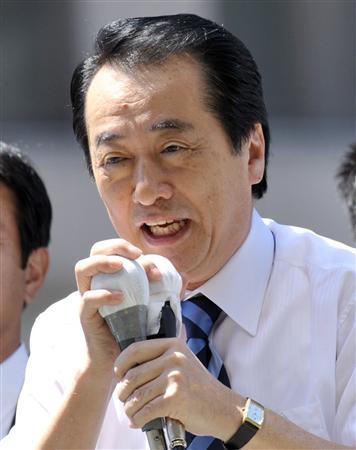 2010.7.11参院選菅直人首相
