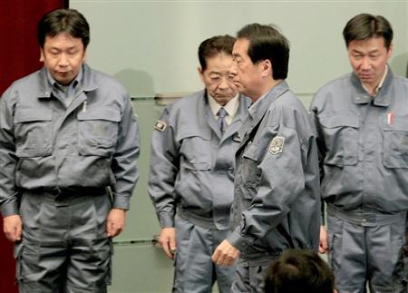 震災の菅内閣