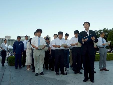 広島市平和記念式典で読まれない もう一つの平和宣言
