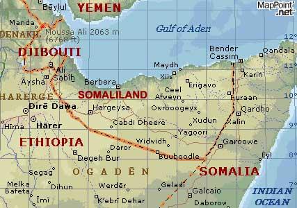 ハルゲイサのあるソマリランド共和国
