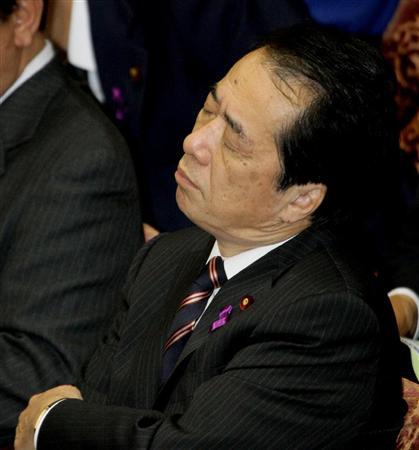 「国会の居眠り王」菅直人