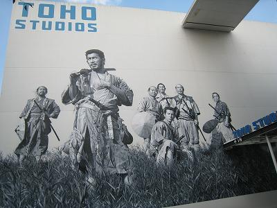 東宝スタジオ ゴジラ像