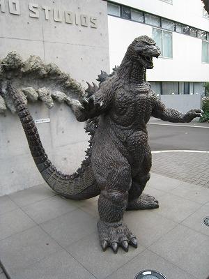 東宝スタジオ ゴジラ像 07