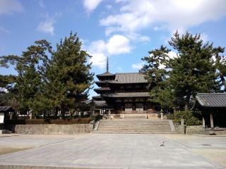 奈良_法隆寺中門