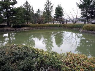 奈良_法隆寺鏡池