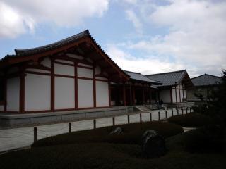 奈良_法隆寺百済観音のある場所