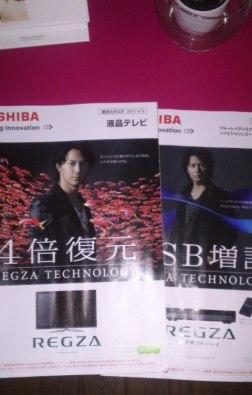 REGZA pamphlet