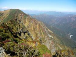 谷川岳山頂オキの耳3