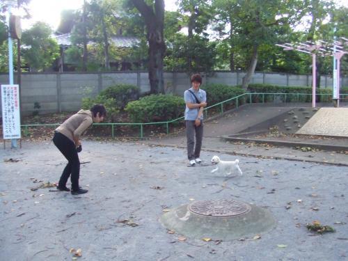 公園にて2