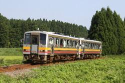 頸城大野~根知間(2010.8.22)