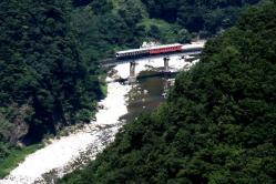 平岩~北小谷間(2010.8.22)