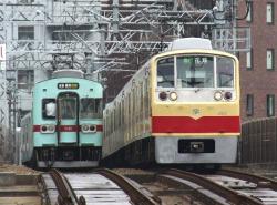 西鉄福岡~薬院間(2010.10.2)