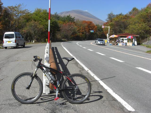 浅間山お目見え