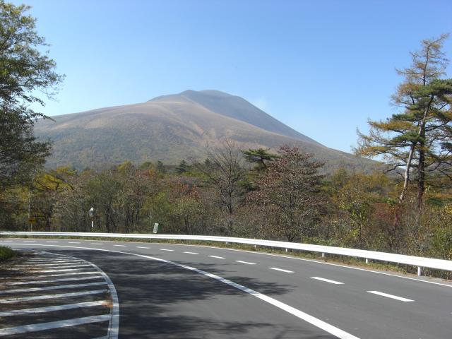 帰りの浅間山