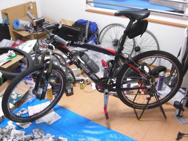 奄美2009 自転車整備