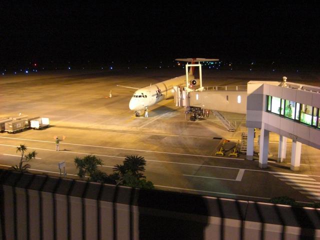 奄美2009 帰りの飛行機