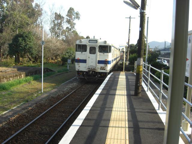 20100129日南線車両日南駅