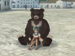 でっかいクマ