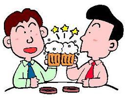 居酒屋で飲む程度の話