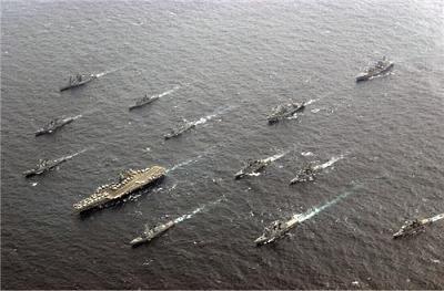 俺たち世界最強の第七艦隊だぁ!