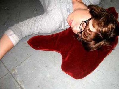 血溜り枕2