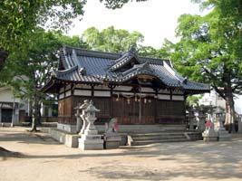 子供のころよく遊んだ神社の写真があった!(東大阪市池島神社)