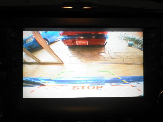 メルセデスベンツ Eクラスワゴン W211型にバックカメラを取り付けました!