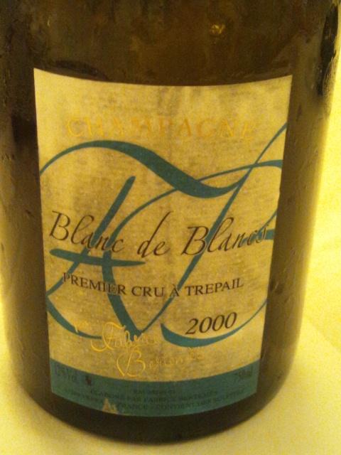 シャンパーニュ 1er cru トレパイユ ブラン・ド・ブラン2000