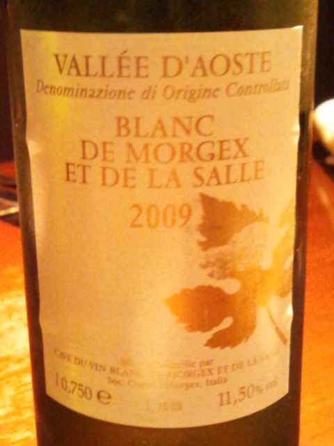 ブラン・ド・モルジェ2009