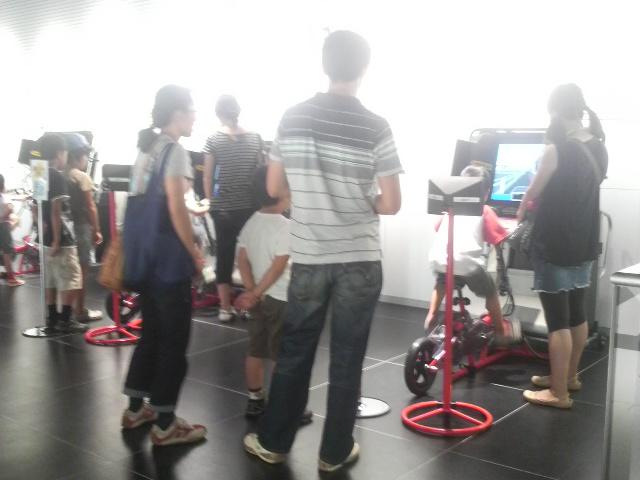 自転車のシュミレーションゲーム