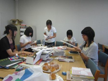 7月29日図書委員会.2