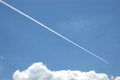 飛行機雲-2