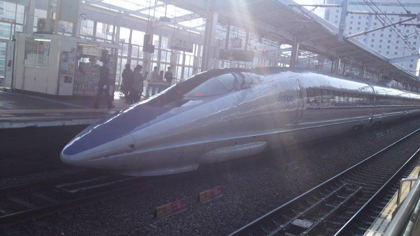 隣の新幹線