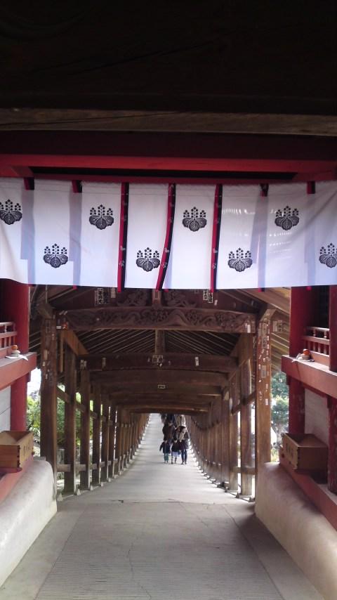 吉備津神社内