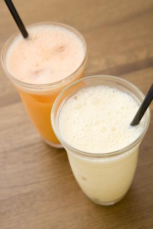 キャロットオレンジ&オレンジアップルミルク