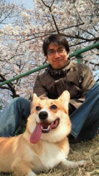 2011年4月桜とバディと俺