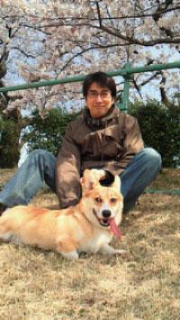 2011年4月桜とバディと俺3
