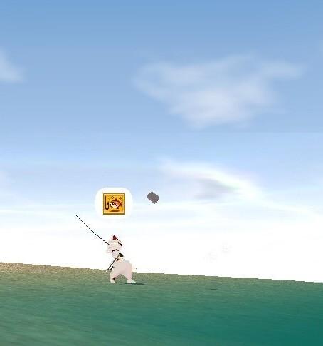 猫島にて釣り