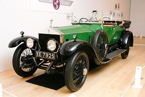 モデルとなった1919 Rolls-Royce 40/50HP Silver Ghost Alpine Eagle