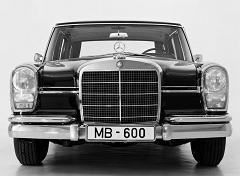 どや顔 Mercedes-Benz 600(1964)