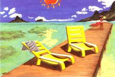BEACH のコピー