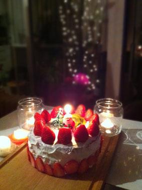 001クリスマスケーキ