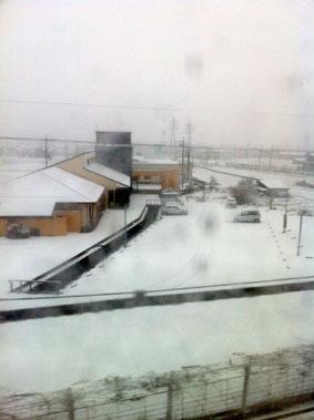 00雪の米原