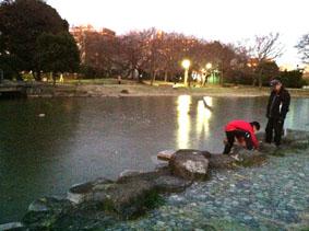 00氷の池