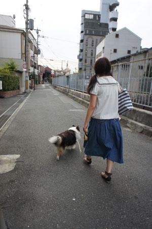 娘とお散歩