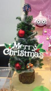 クリスマスツリーwithモンスター