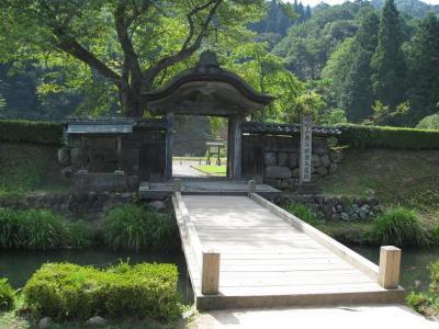 朝倉義景屋敷跡